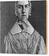Angelina Grimk�, American Abolitionist Wood Print by Photo Researchers