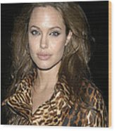 Angelina Jolie At Sharkspeare In The Wood Print