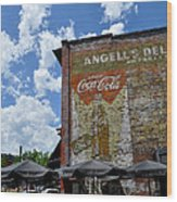 Angell's Deli Wood Print by Anjanette Douglas