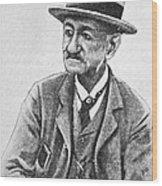 Angelo Dubini, Italian Physician, Artwork Wood Print