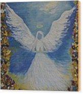 Angels Prayer Wood Print