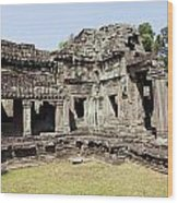 Angkor Archaeological Park Wood Print
