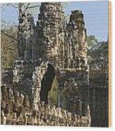 Angkor Archaeological Park II Wood Print