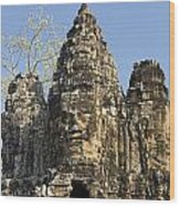 Angkor Thom II Wood Print
