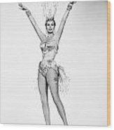 Anita Ekberg (1931- ) Wood Print by Granger