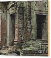 Ankor Wat Cambodia Wood Print