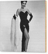 Ann Miller, Ca. 1950s Wood Print