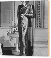 Ann Sheridan, Portrait, Circa 1946 Wood Print by Everett