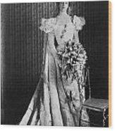 Anna Eleanor Roosevelt Wood Print