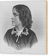 Anna Elizabeth Dickinson Wood Print