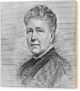 Anna Ottendorfer Wood Print