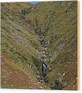 Annascaul Mountains Wood Print