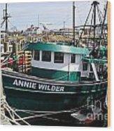 Annie Wilder Wood Print
