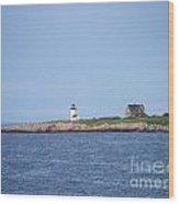 Annisquam Harbor Lighthouse Wood Print