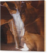 Antelope Canyon Light Wood Print