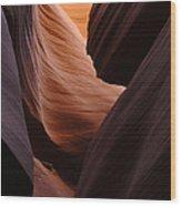 Antelope Canyon Natural Beauty Wood Print