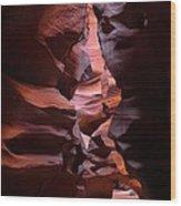 Antelope Canyon Page Arizona Wood Print