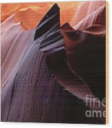 Antelope Canyon Story Of The Rock Wood Print