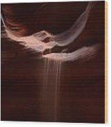 Antelope Slot Canyon Sand Wood Print