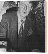 Anthony Burgess (1917-1993) Wood Print