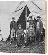 Antietam: Officials, 1862 Wood Print