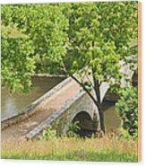 Antietam's Burnside Bridge Wood Print