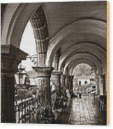 Antigua Arches Wood Print