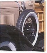Antique Classic Vintage Car Wood Print