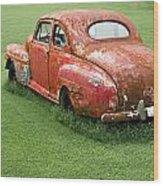 Antique Ford Car 5 Wood Print