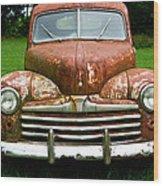 Antique Ford Car 8 Wood Print