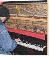 Antique Playtone Piano Wood Print