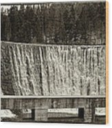 Antique Polish Waterfall Wood Print