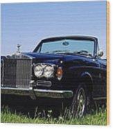 Antique Rolls Royce Wood Print