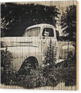 Antique Truck Wood Print