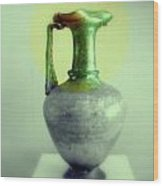 Antique Vases Still Life Altered IIi Wood Print