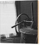 Antique Washing Machine Wood Print