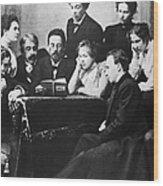Anton Chekhov (1860-1904) Wood Print