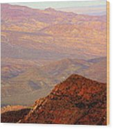 Anza-borrego Desert Foothills Wood Print