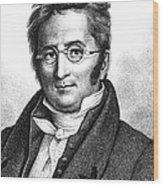 A.p. De Candolle, Swiss Botanist Wood Print
