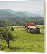 Apalachia Wood Print