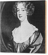 Aphra Behn 1640-1689, English Novelist Wood Print