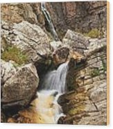 Apikuni Waterfall Wood Print