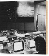 Apollo 11: Mission Control Wood Print