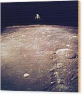 Apollo 12 Lunar Lander Wood Print