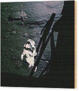 Apollo 14 Astronaut Al Shepard Wood Print