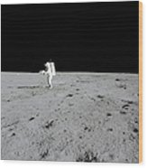Apollo 14 Astronaut Makes A Pan Wood Print