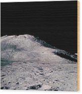 Apollo 15 Lunar Landscape Wood Print