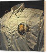 Apollo Space Suit Wood Print
