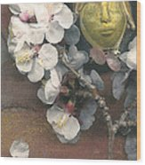 Apple Blossom Dreaming Wood Print