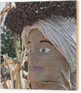 Apple Stick Hat Wood Print
